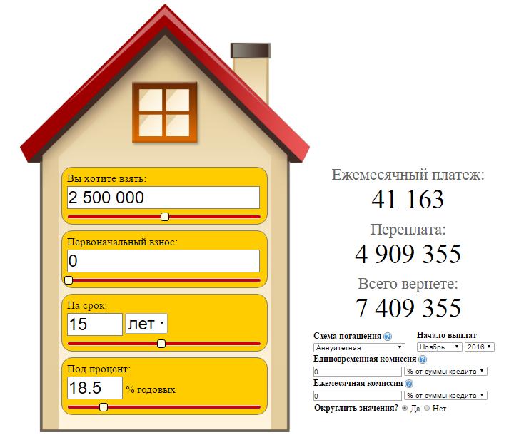 мкб онлайн калькулятор ипотеки